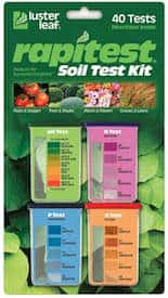 DIY home soil testing kit