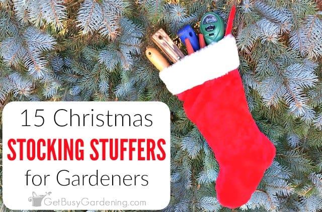 15 Christmas Stocking Stuffers for Gardeners