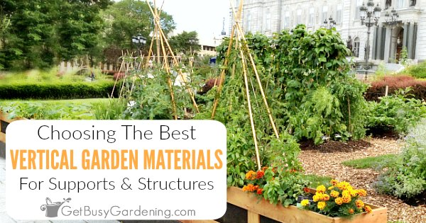 Remarkable Choosing Materials To Use For Vertical Gardening Get Busy Short Links Chair Design For Home Short Linksinfo