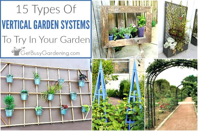 15 Types Of Vertical Gardening Systems