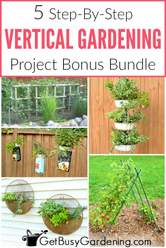 Vertical Gardening 5 Projects Bundle