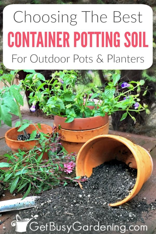 Outdoor potted plants depend on us to provide the nutrients they need to grow. That's why it's super important to use the best soil for container gardening. Get tons of tips for choosing soil for containers, which to avoid (like topsoil and garden soil), how to use it, and recommended fertilizers to add so you can feel confident that you get the absolute best potting mix for outdoor planters and pots. Plus, get answers to the FAQs about choosing container soil
