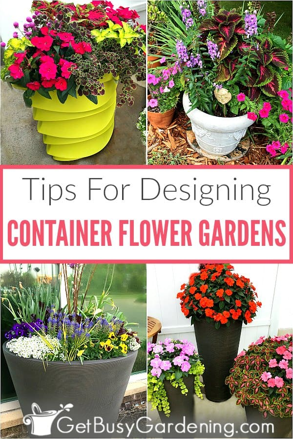 Summer Container Flower Gardening Is Fun, And A Great Way To Add Color To A