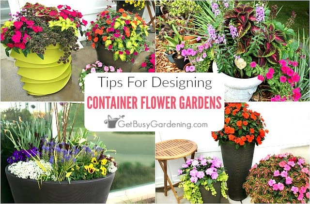 Genial Container Flower Gardening Design Tips U0026 Ideas