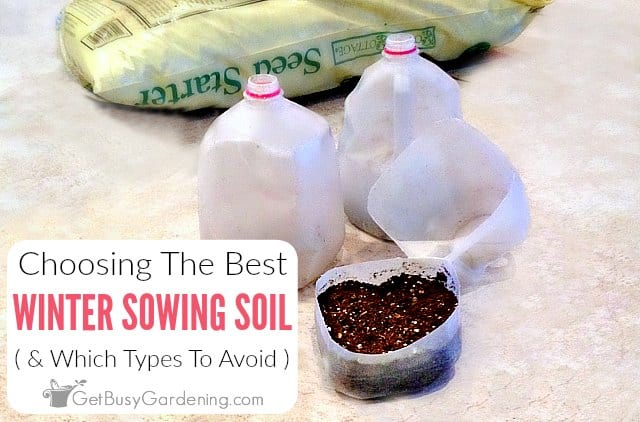 Choosing The Best Soil For Winter Sowing