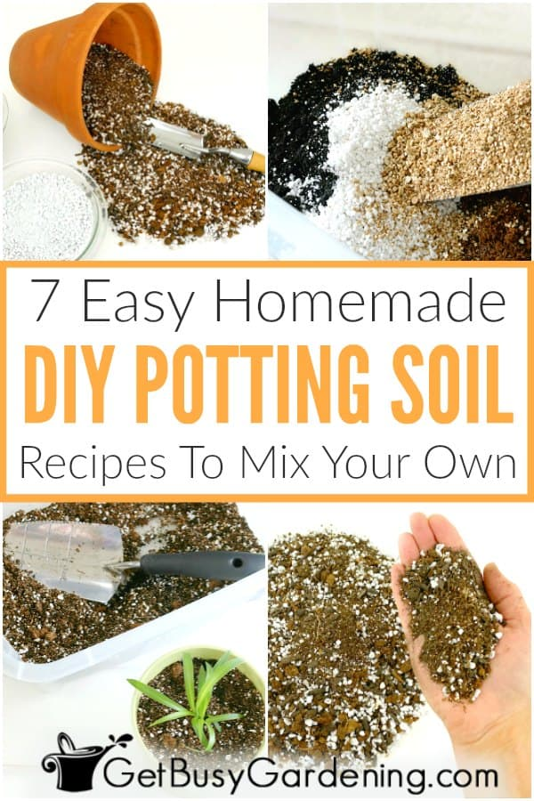 7 Easy Homemade DIY Potting Soil Recipes To Mix Your Own