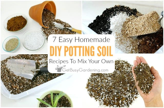 7 Easy DIY Potting Soil Recipes To Mix Your Own