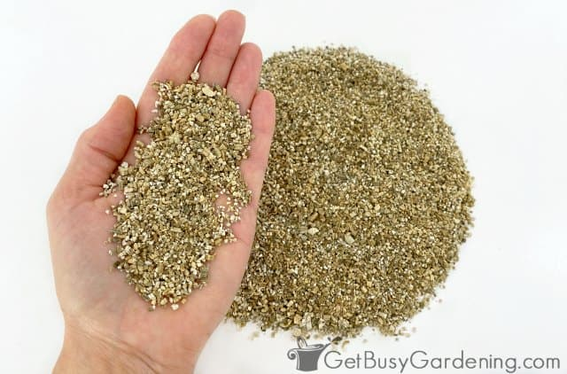 Vermiculite potting mix ingredient