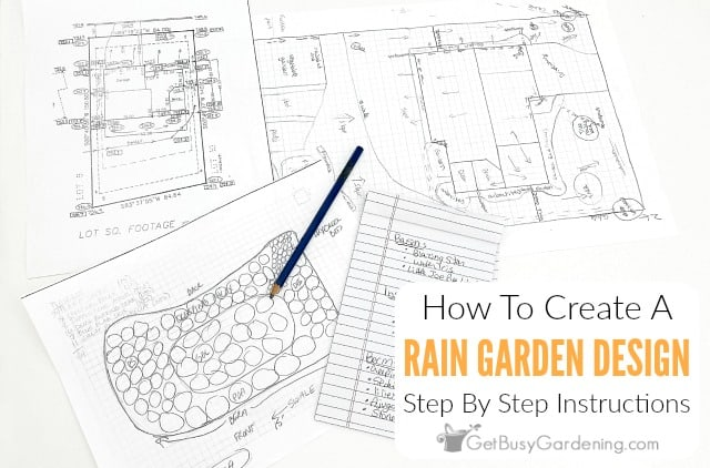 How To Design A Rain Garden Layout