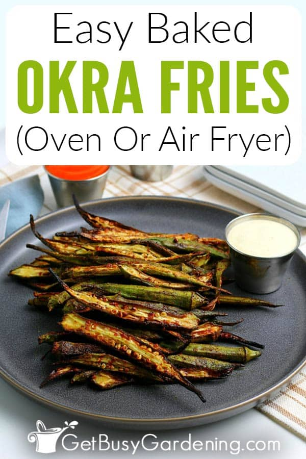 Easy Baked Okra Fries (Oven Or Air Fryer)