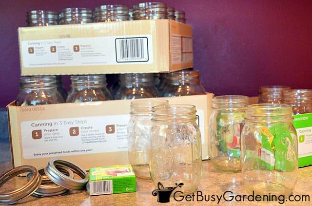 Reusing canning jars