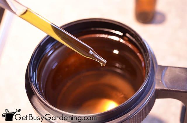 Using my DIY liquid stevia drops as a sweetener